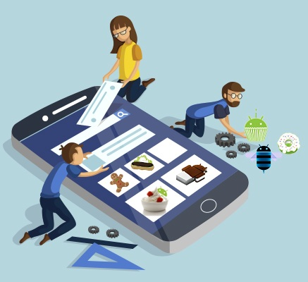 Types of app and career as app developer at the present time